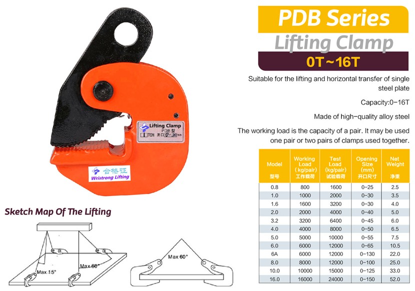 Lifting-clamp-PDB-Specs