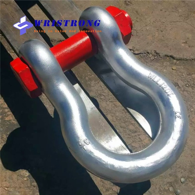 WLL-120t-SAFETY-BOLT-ANCHOR-SHACKLES