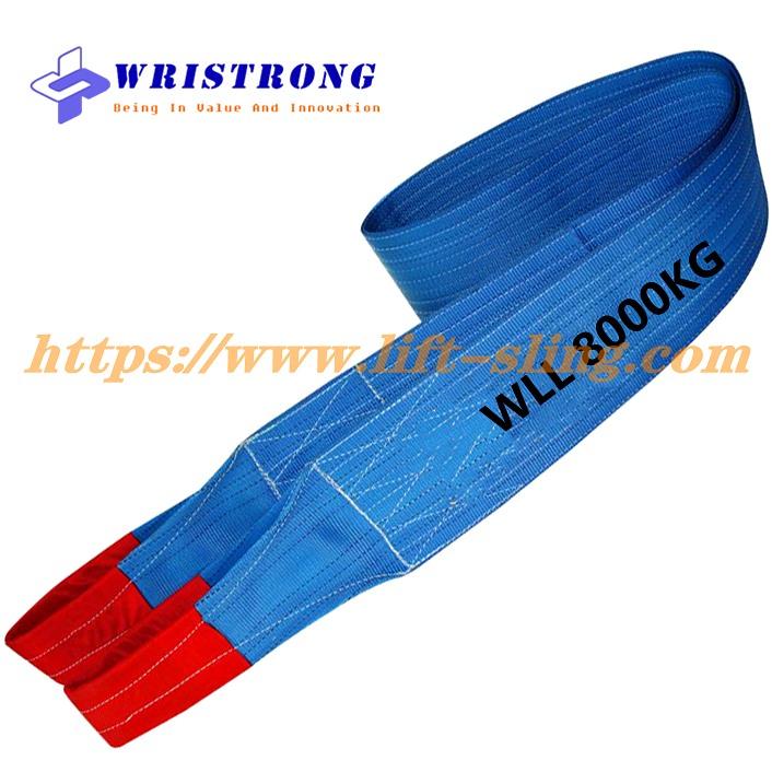 AS 1353 Flat Webbing Slings WLL 8000KG